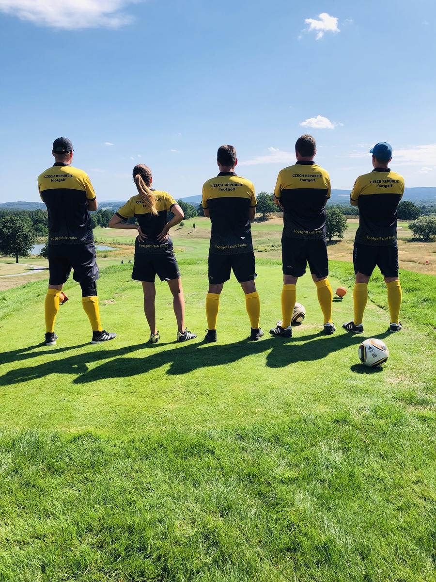 Footgolf turnaj Kestřany
