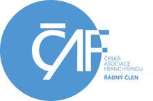 Logo Česká asociase franchisingu