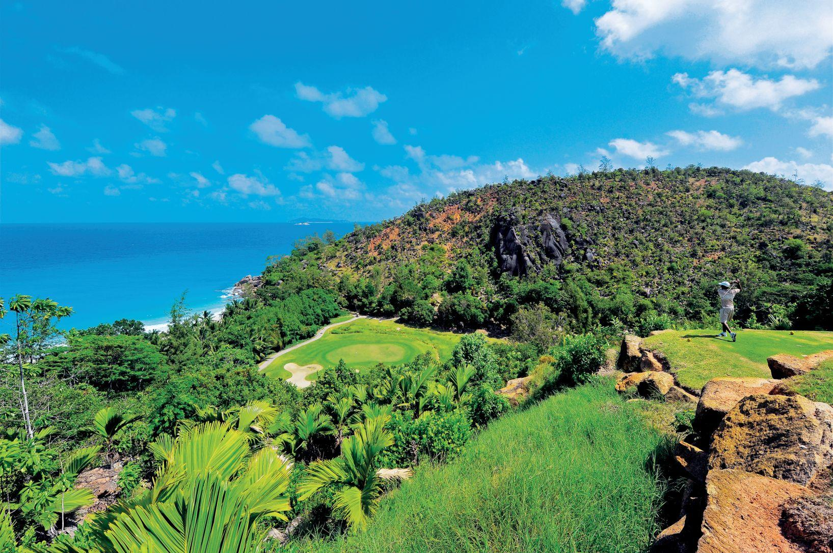 GV - LeMuria Resort Seychelles - par three 15th hole
