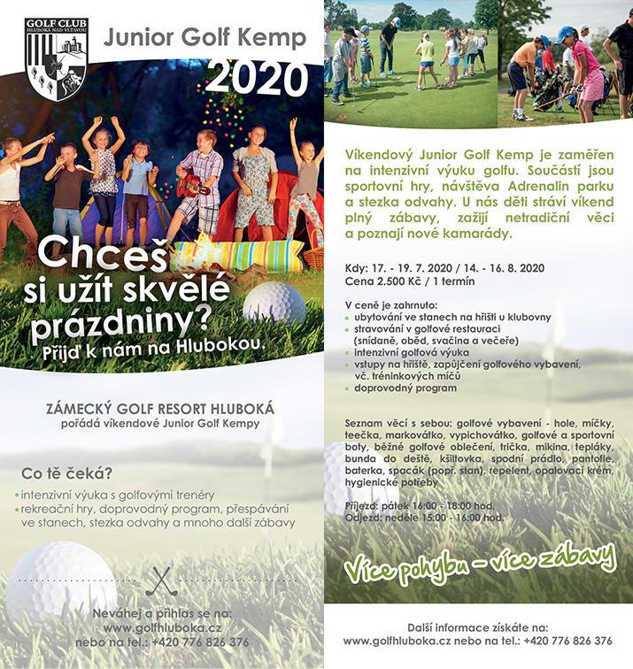 Junior Golf Kemp 2020
