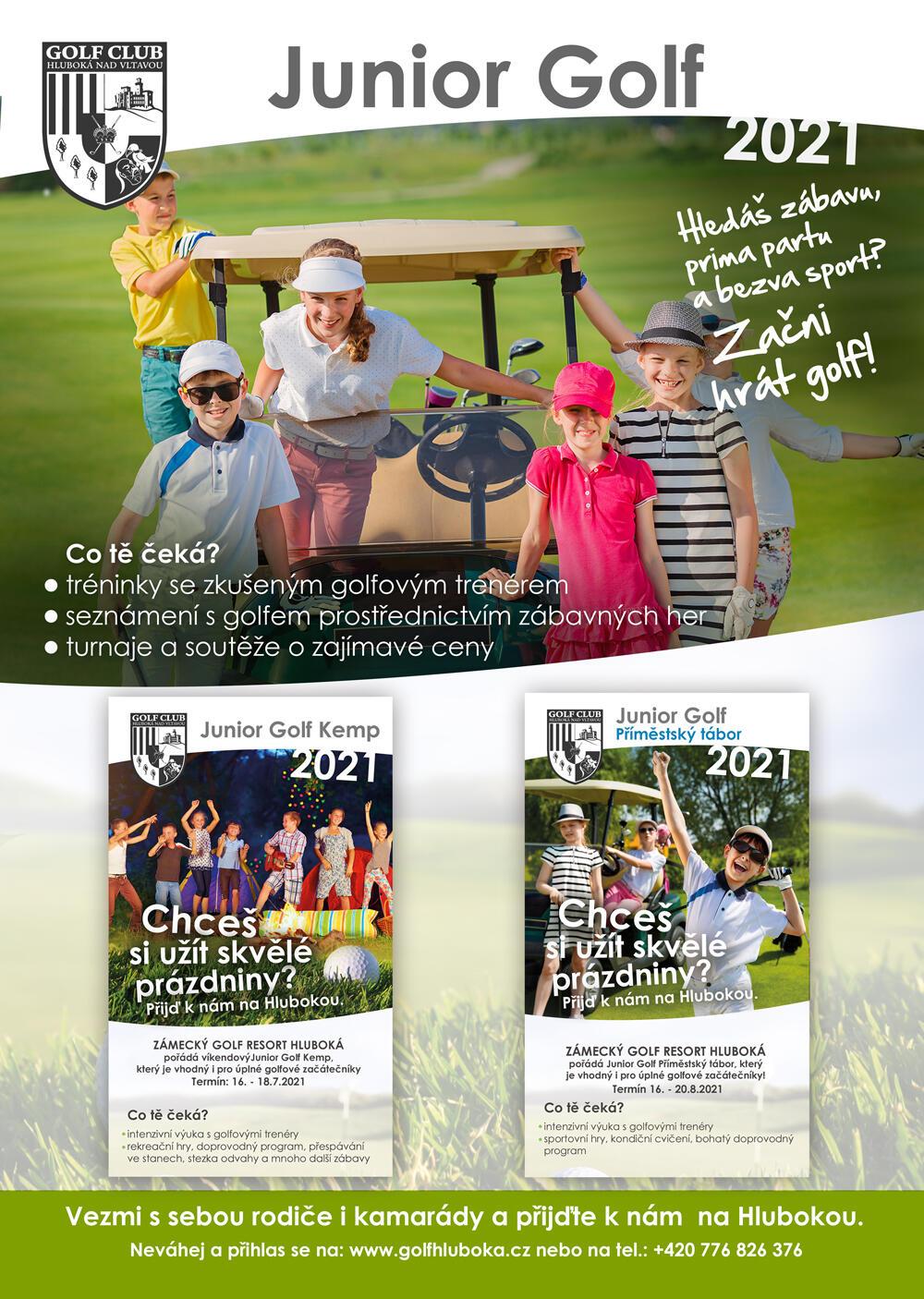 Junior Golf Komplet