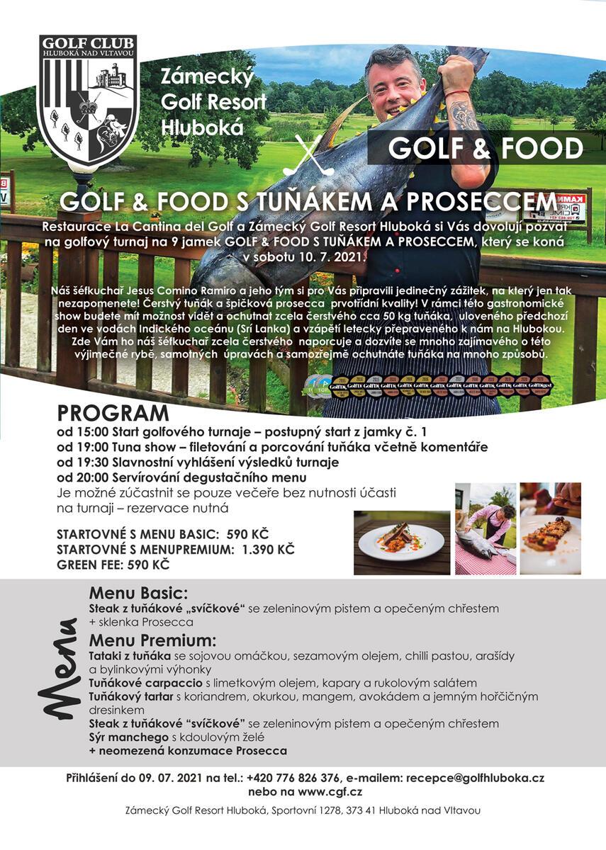 Golf&Food Tuňák