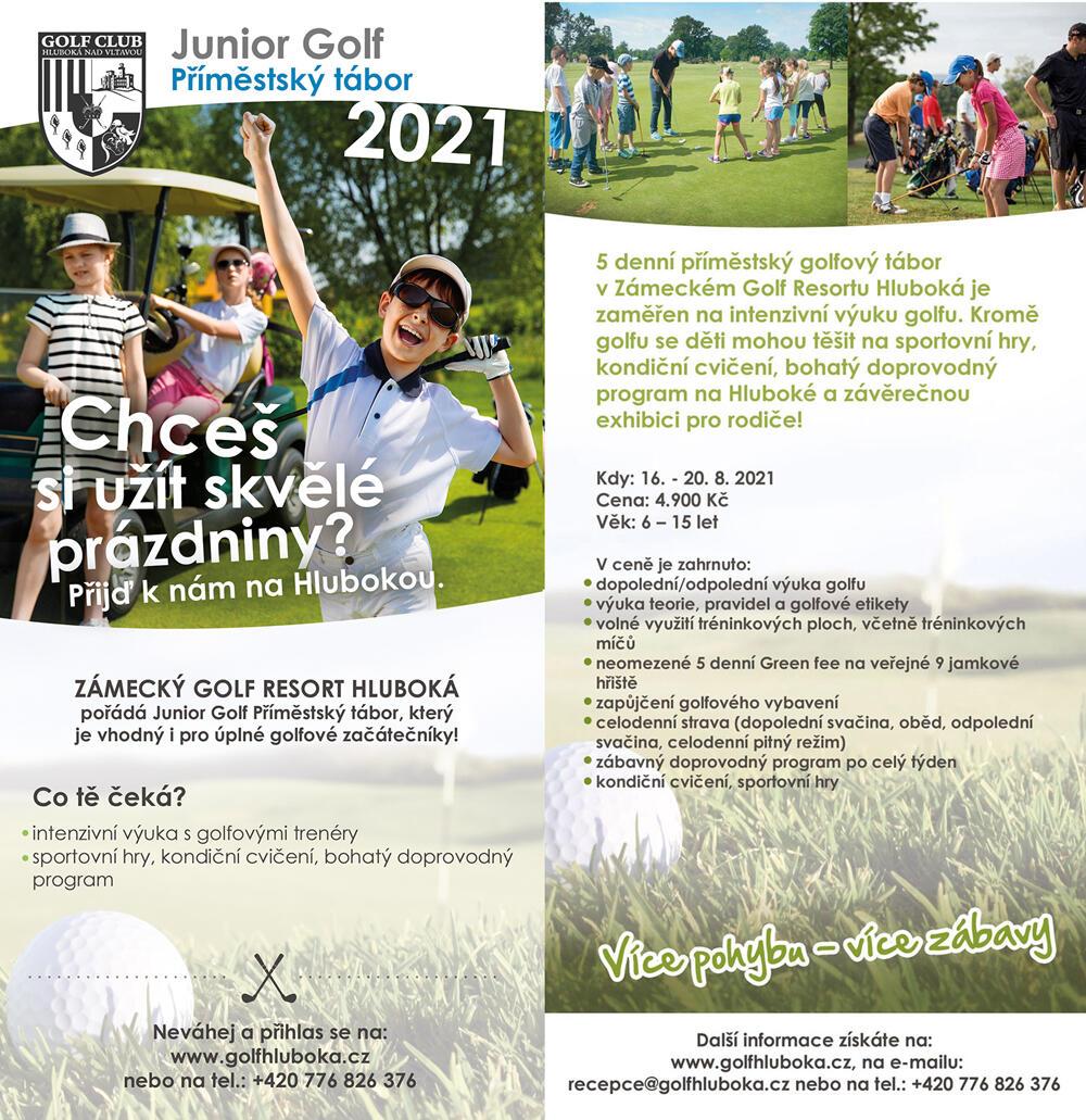 Junior Golf Příměstský tábor