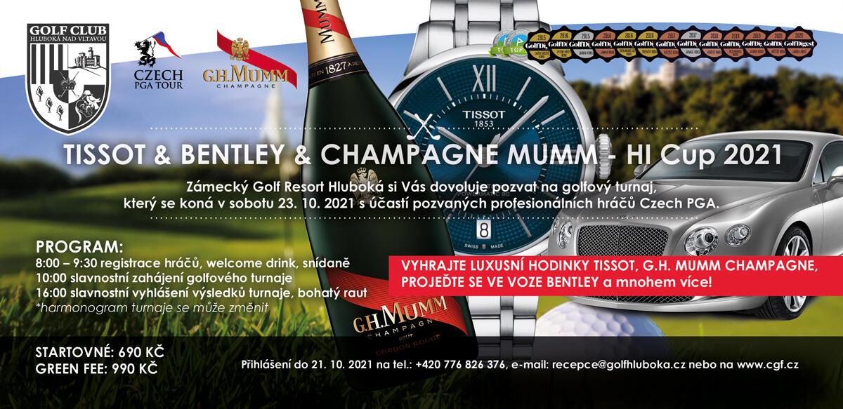 Tissot-Bentley-Mumm HI CUP