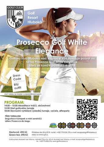 Prosecco Golf White Elegance